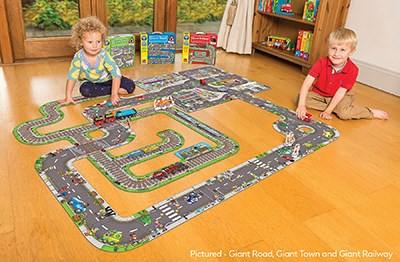 Giant Road Jigsaw Puzzle