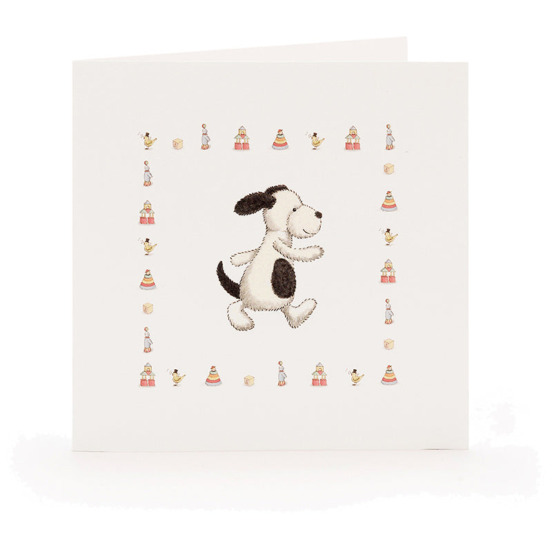 Jellycat Bashful Puppy Card