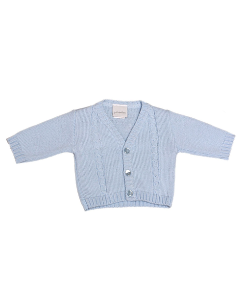 Blue Baby Knitted Cardigan