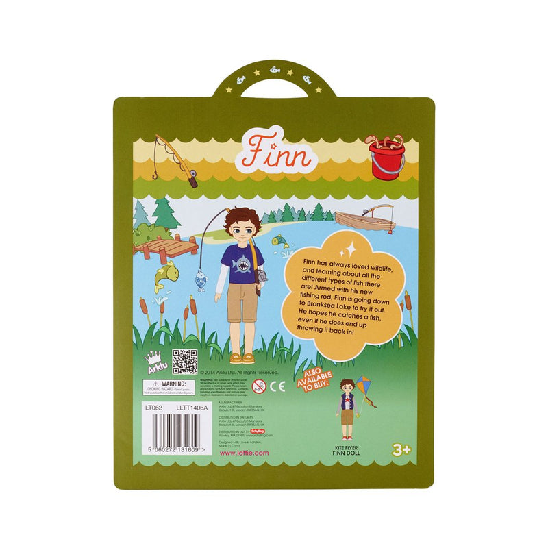 Gone Fishing Outfit Set Lottie Dolls