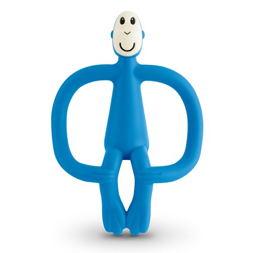 Blue Monkey Teething Toy Matchstick Monkey