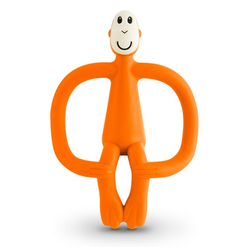 Orange Monkey Teething Toy Matchstick Monkey