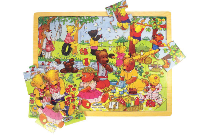 Teddy's Picnic Jigsaw Puzzle