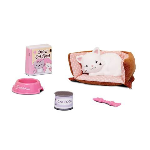 Pandora the Persian Cat accessory set