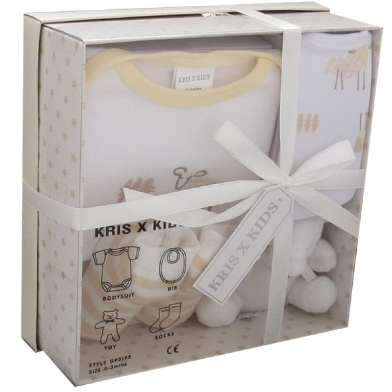 Baby Sheep Boxed Cream Gift Set