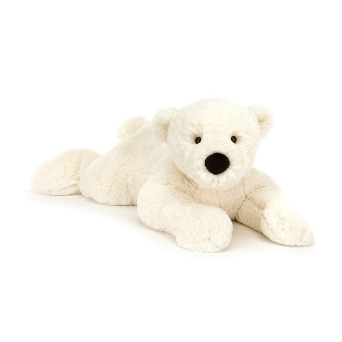 Perry Polar Bear lying down