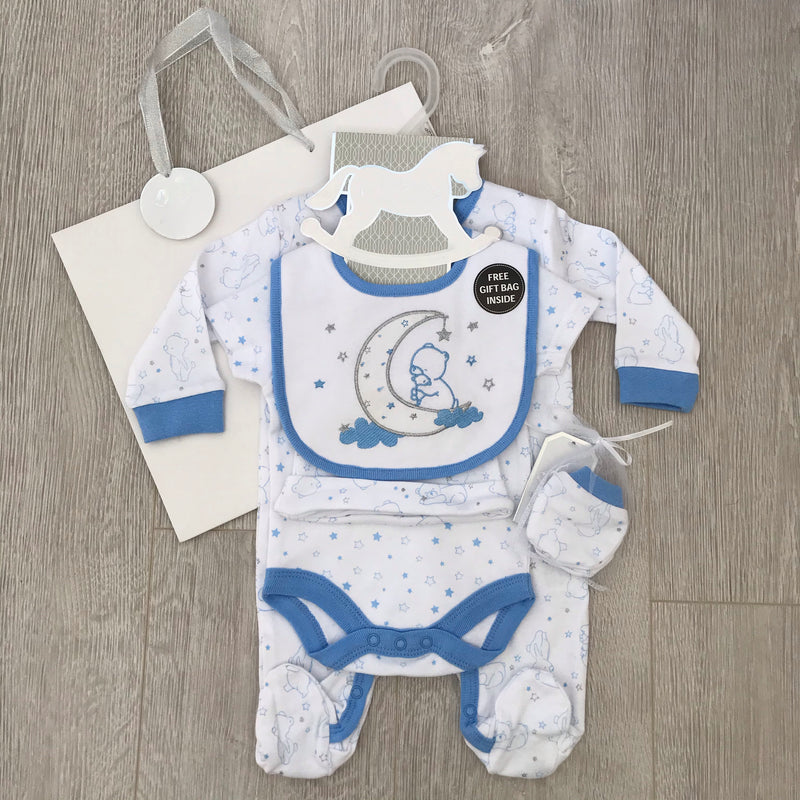 Moon and Stars 7 Piece Gift Set