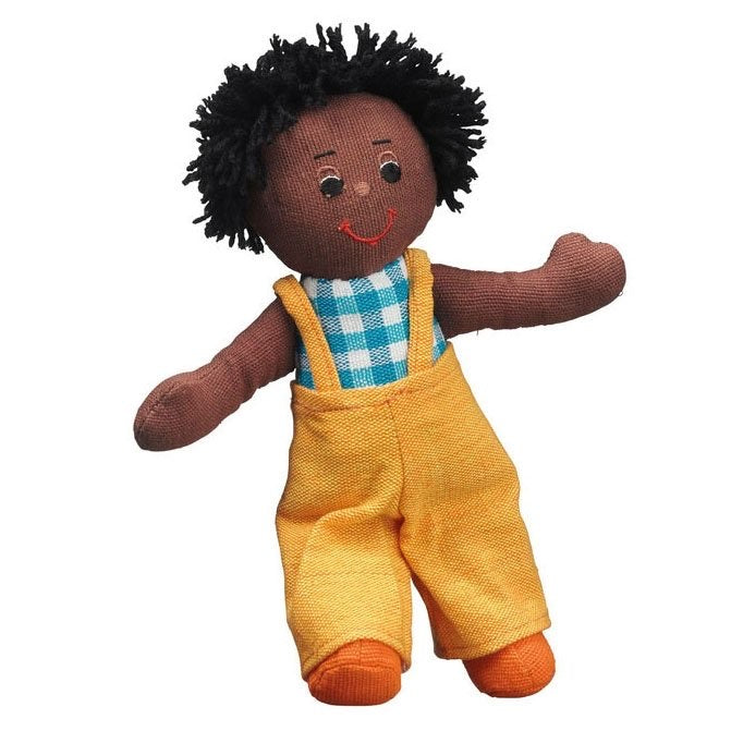 Lanka Kade Boy Black Skin Black Hair Doll