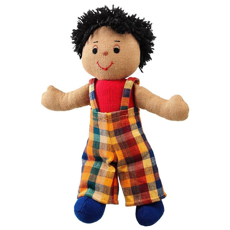 Lanka Kade Boy Brown Skin Black Hair Doll