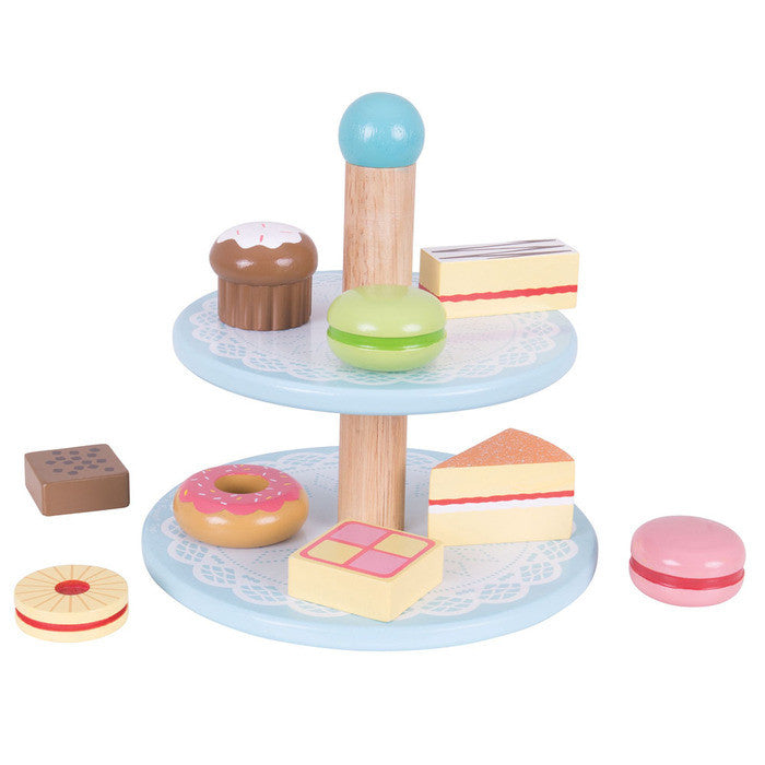 Cake Stand with 9 Cakes