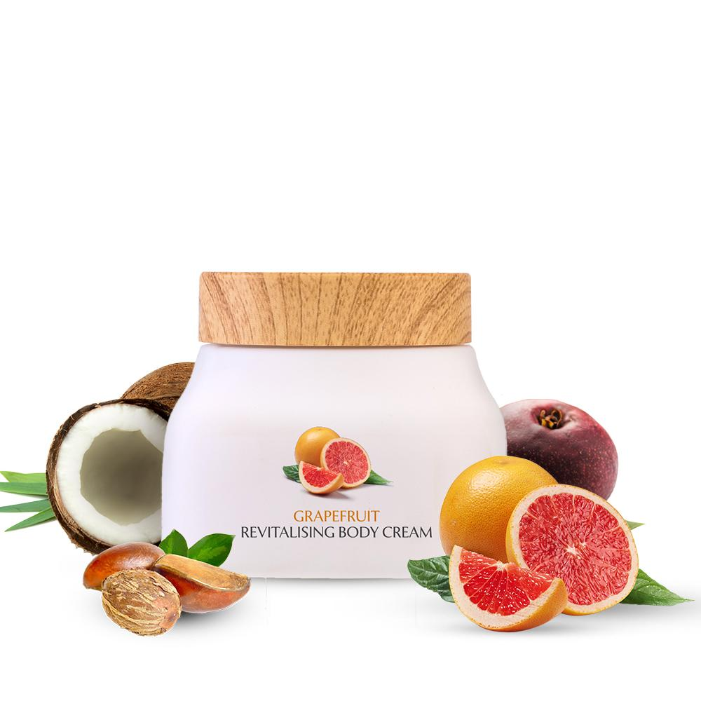 Grapefruit Revitalising Body Cream | 140 gm