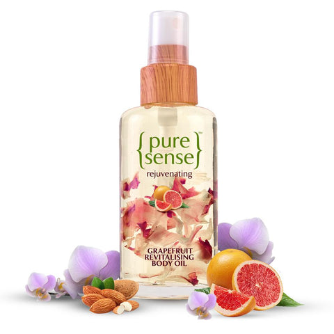PureSense Rejuvenating Grapefruit Revitalising Body Oil