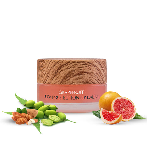Grapefruit UV Protection Lip Balm - Sulphate & Paraben Free(5gm)