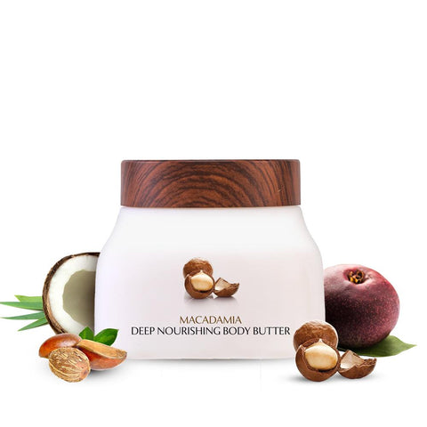 Relaxing Macadamia Deep Nourishing Body Butter