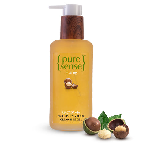 PureSense Relaxing Macadamia Nourishing Body Cleansing Gel