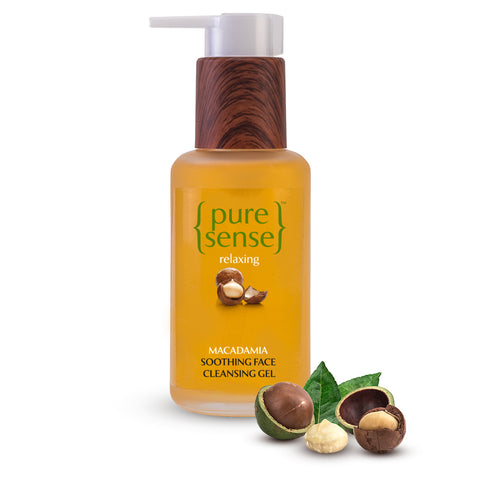 PureSense Relaxing Macadamia Soothing Face Cleansing Gel