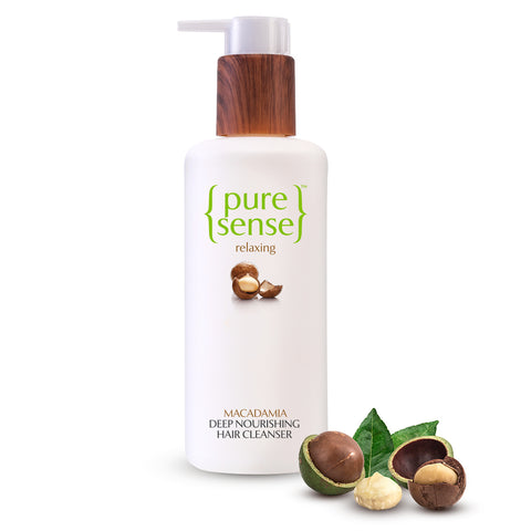Relaxing Macadamia Deep Nourishing Hair Cleanser