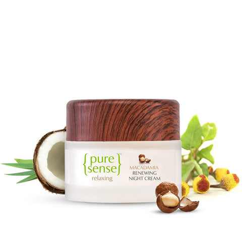 PureSense Macadamia Renewing Night Cream Sulphate & Paraben Free(50ml)