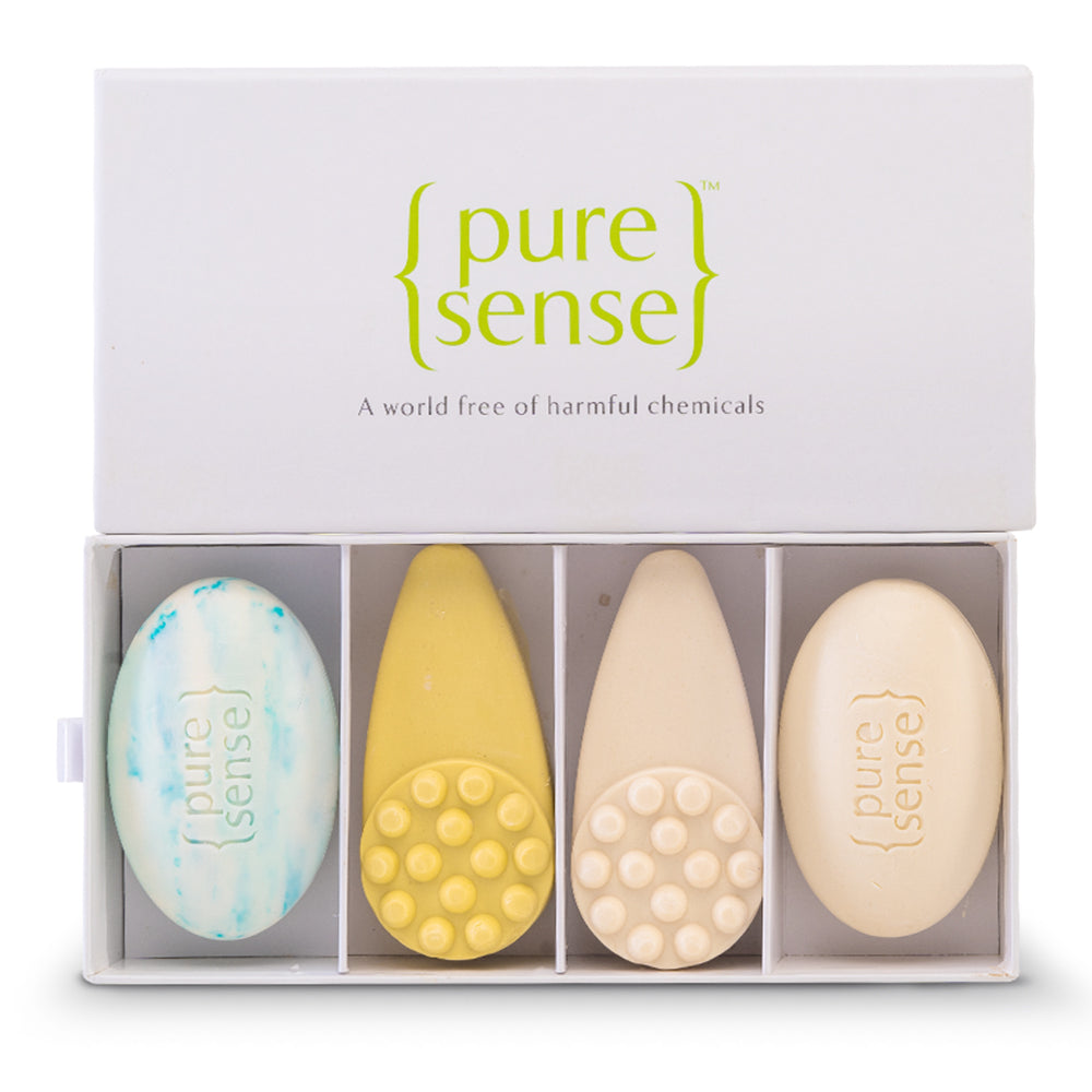 PureSense Soap Gift Box - Pack of 4