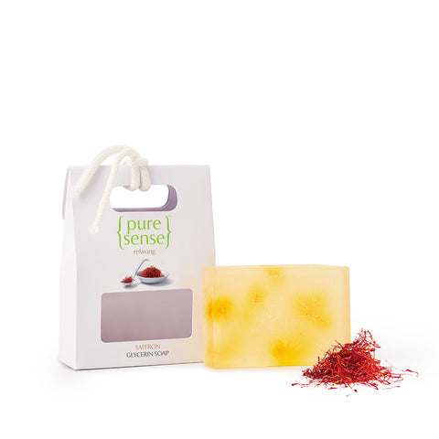 PureSense Relaxing Saffron Cold Pressed Glycerin Soap