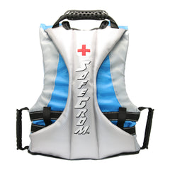 Grom (Ages 6-12) Blue Checkered Life Jacket