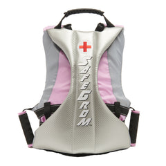 Grom (Ages 6-12) Pink Checkered Life Jacket