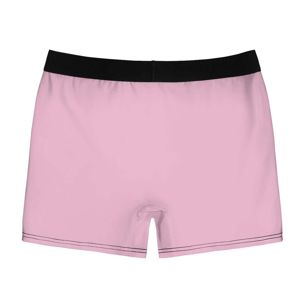Cooney Boxer Briefs in Light Pink with White