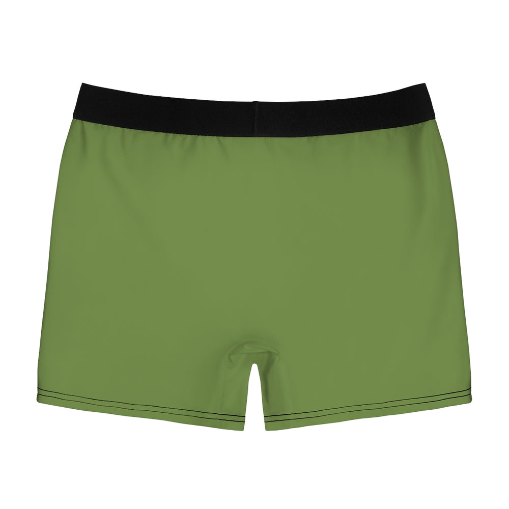 Cooney Boxer Briefs in Military with Light Pink