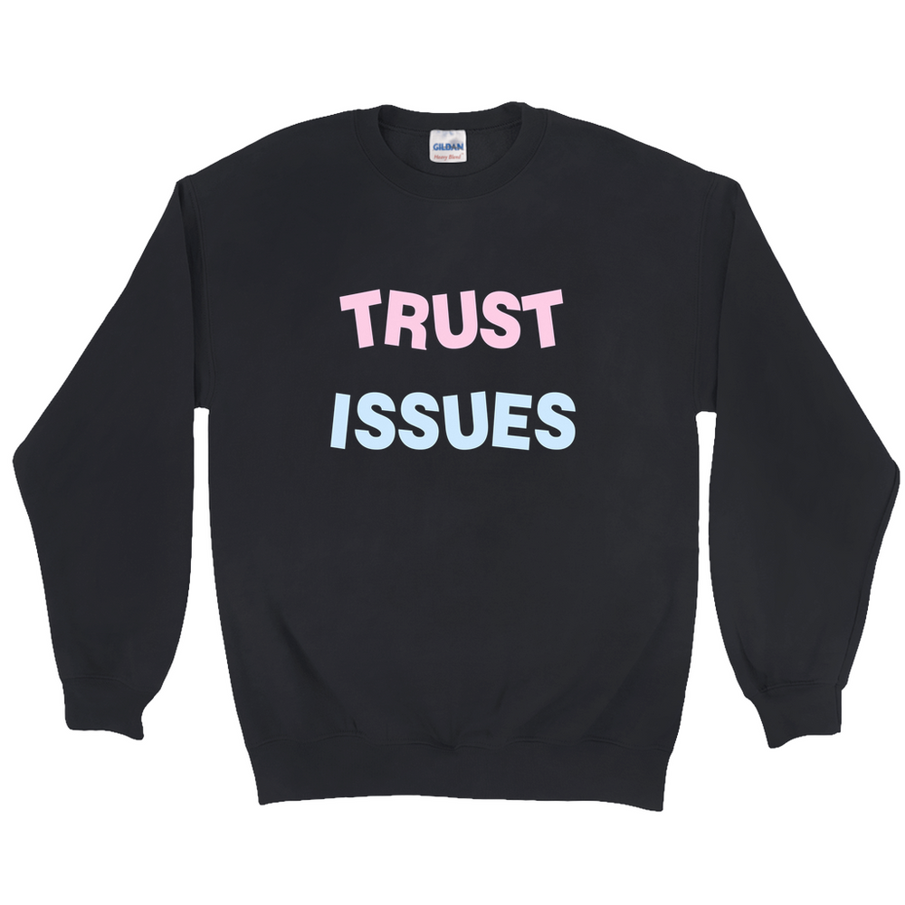 Trust Issues Sweater in Black