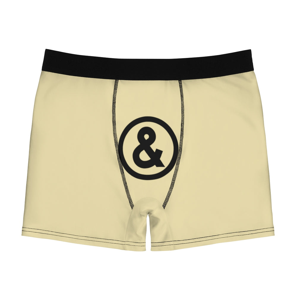 Cooney Boxer Briefs in Sand with Black
