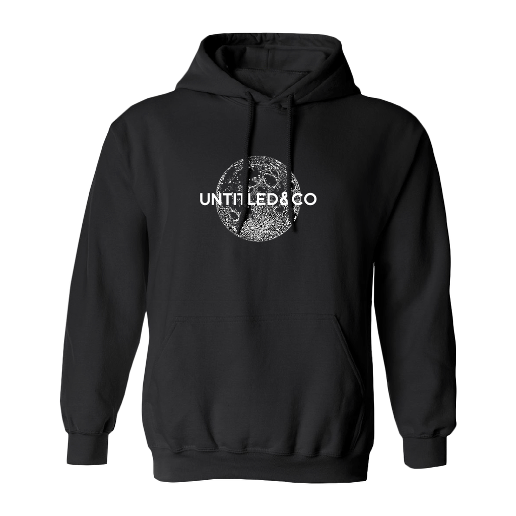 Limited Edition Moon Hoodie in Black