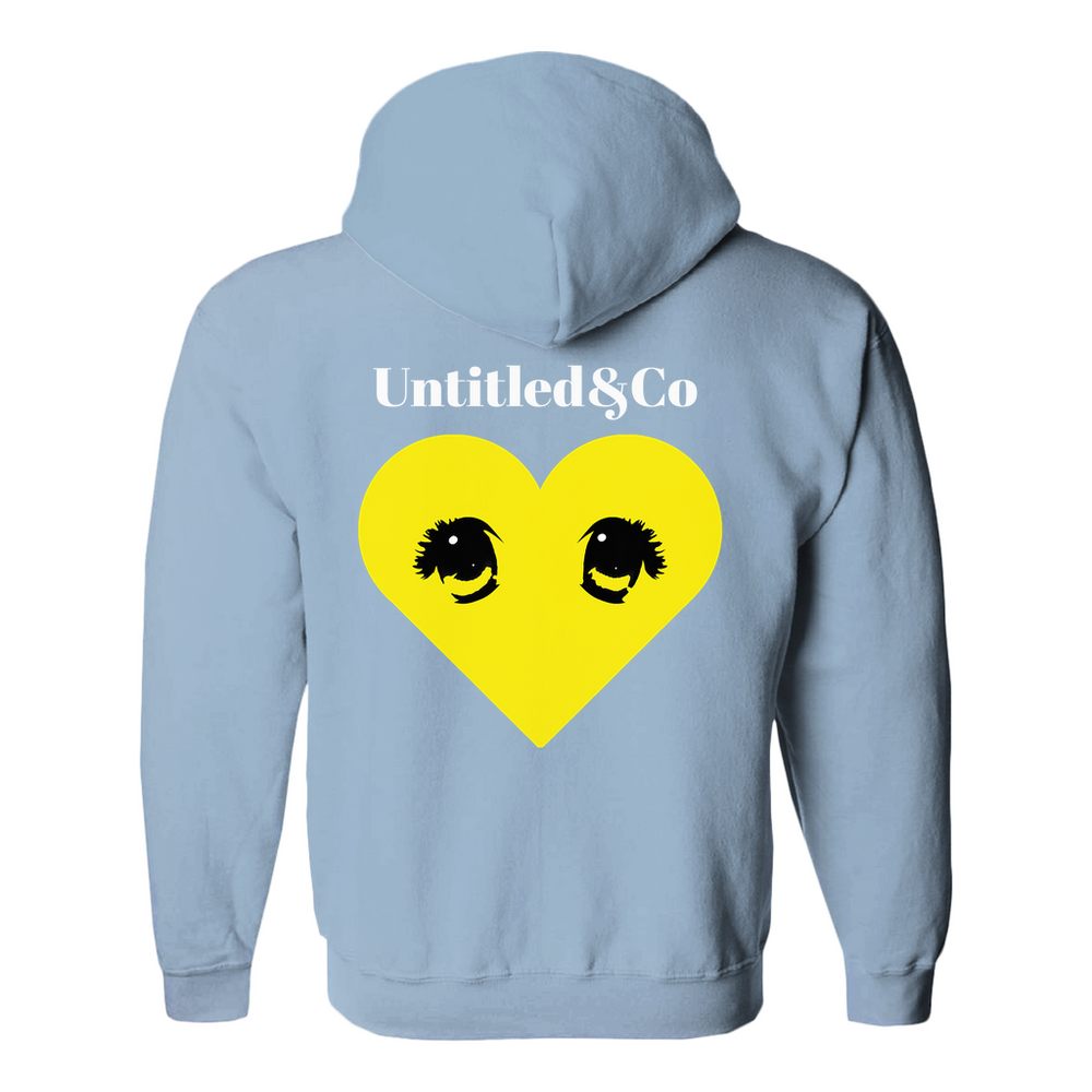 Loverboy hoodie in Light Blue