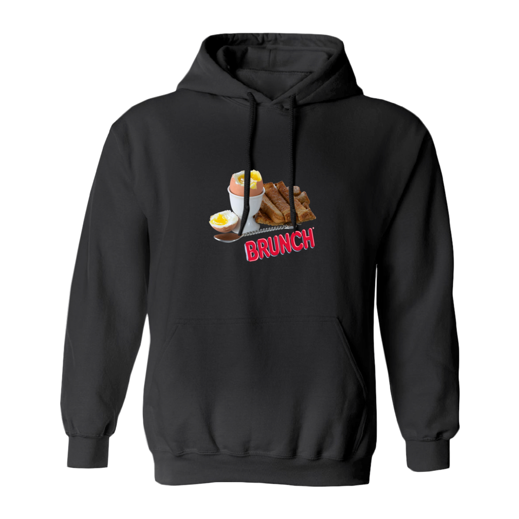 Brunch Hoodie in Black