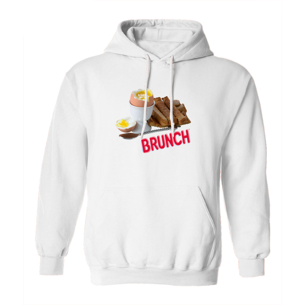 Brunch Hoodie in White