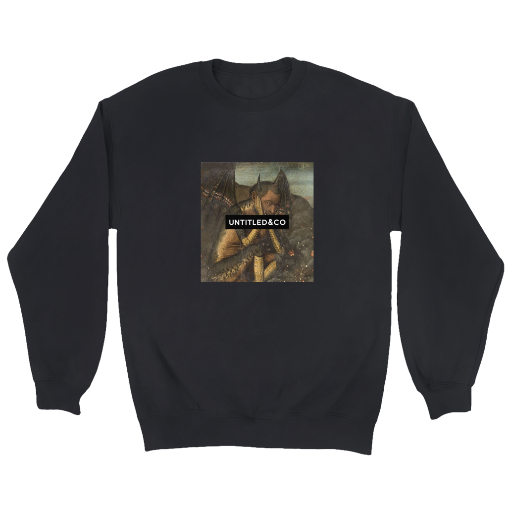 Gamigin Crewneck Sweatshirt in Black