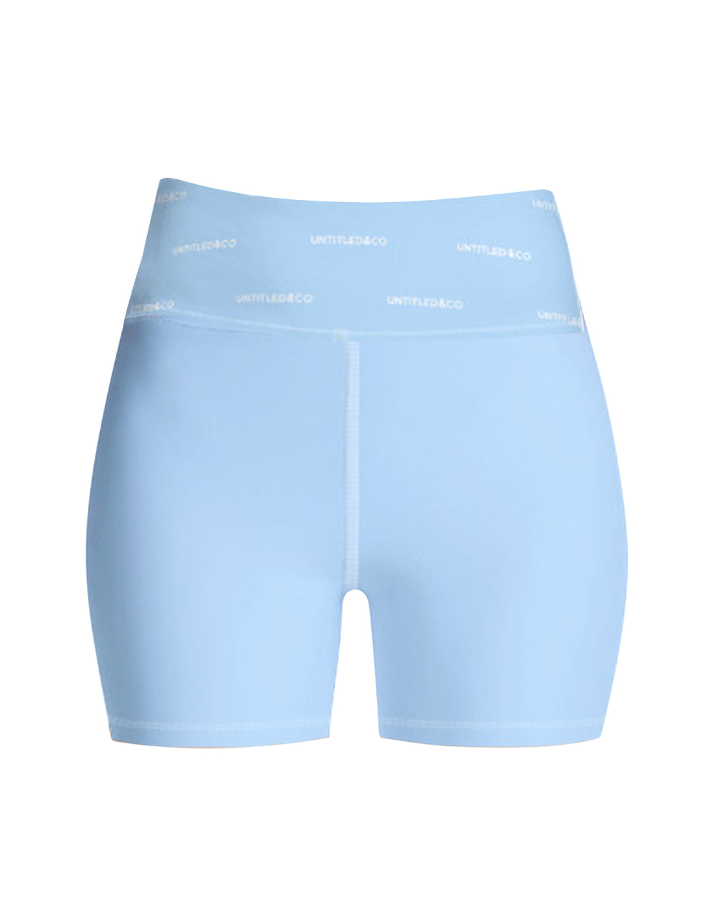 Rylee Shorts in Light Blue with White