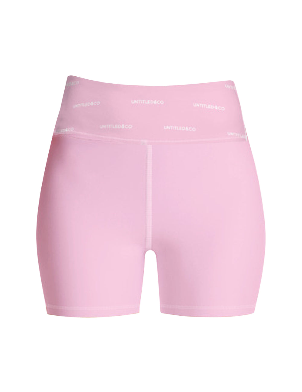 Rylee Shorts in Pink with White