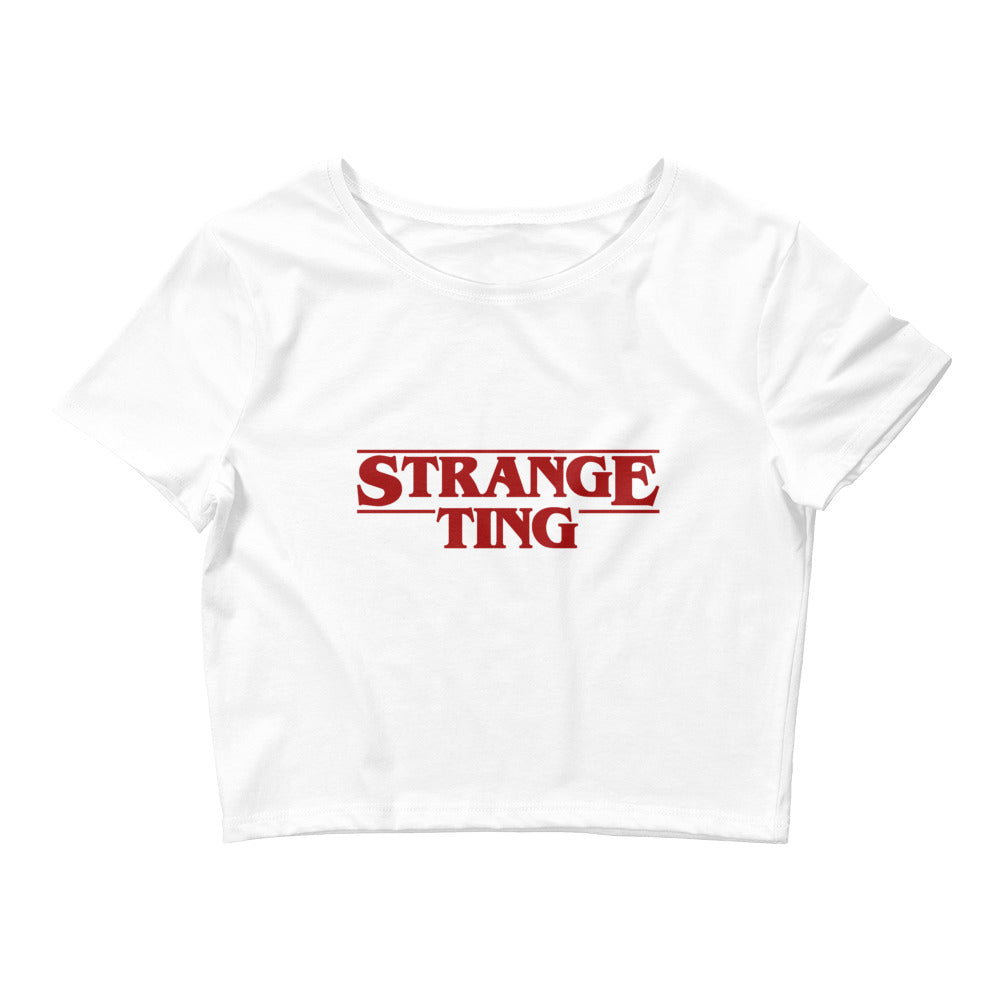 Limited Edition Strange Ting Crop Tee