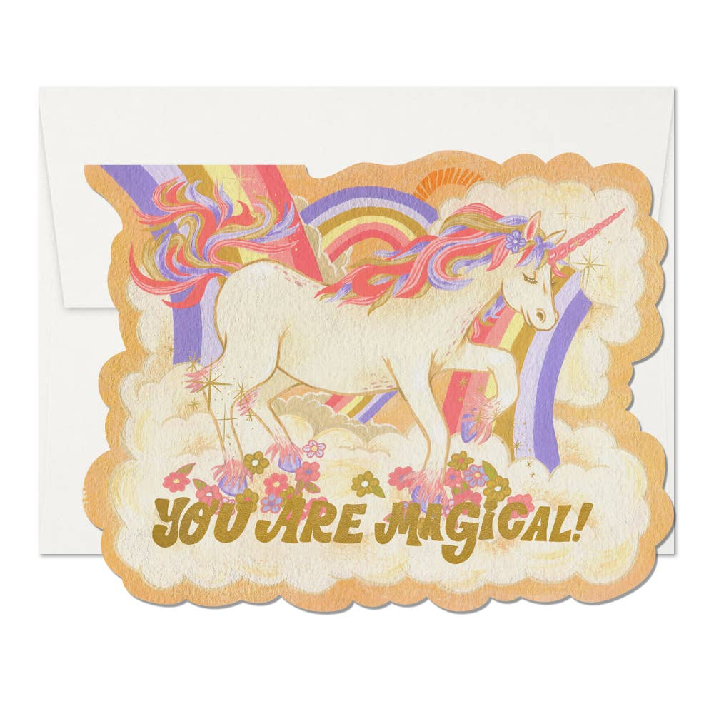 You Are Magical Unicorn Greeting Card