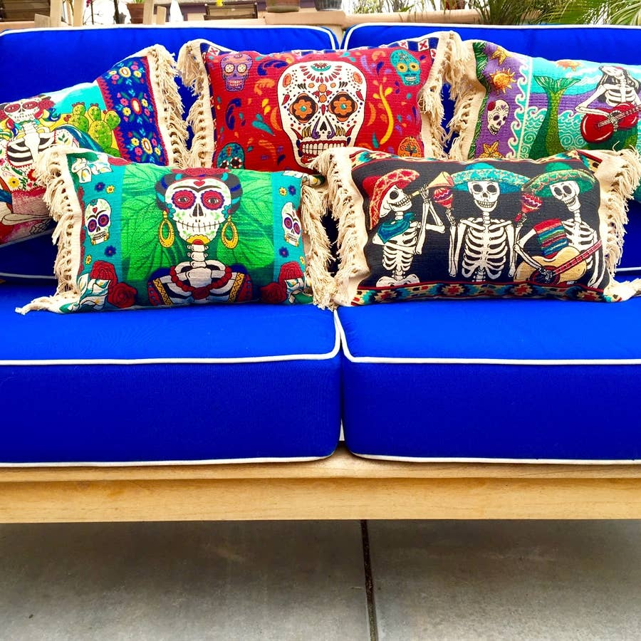 Day of the Dead Pillows
