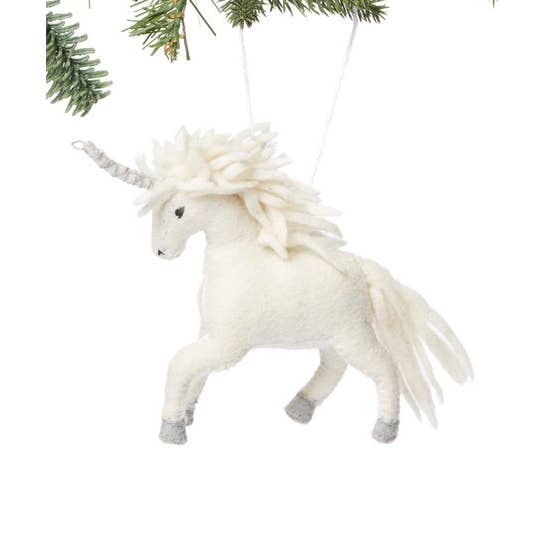 Mystical Unicorn Tree Ornament