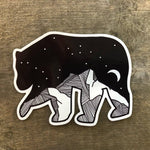 Bear Sticker Mountain Vinyl Sticker