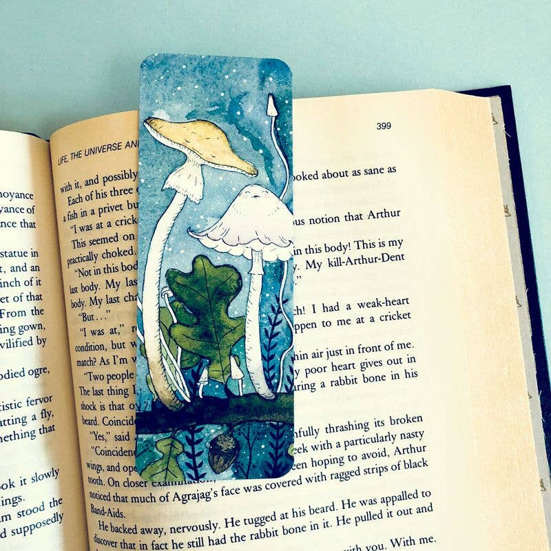 Woodsy Shrooms | Magical Mushroom | Bookmark