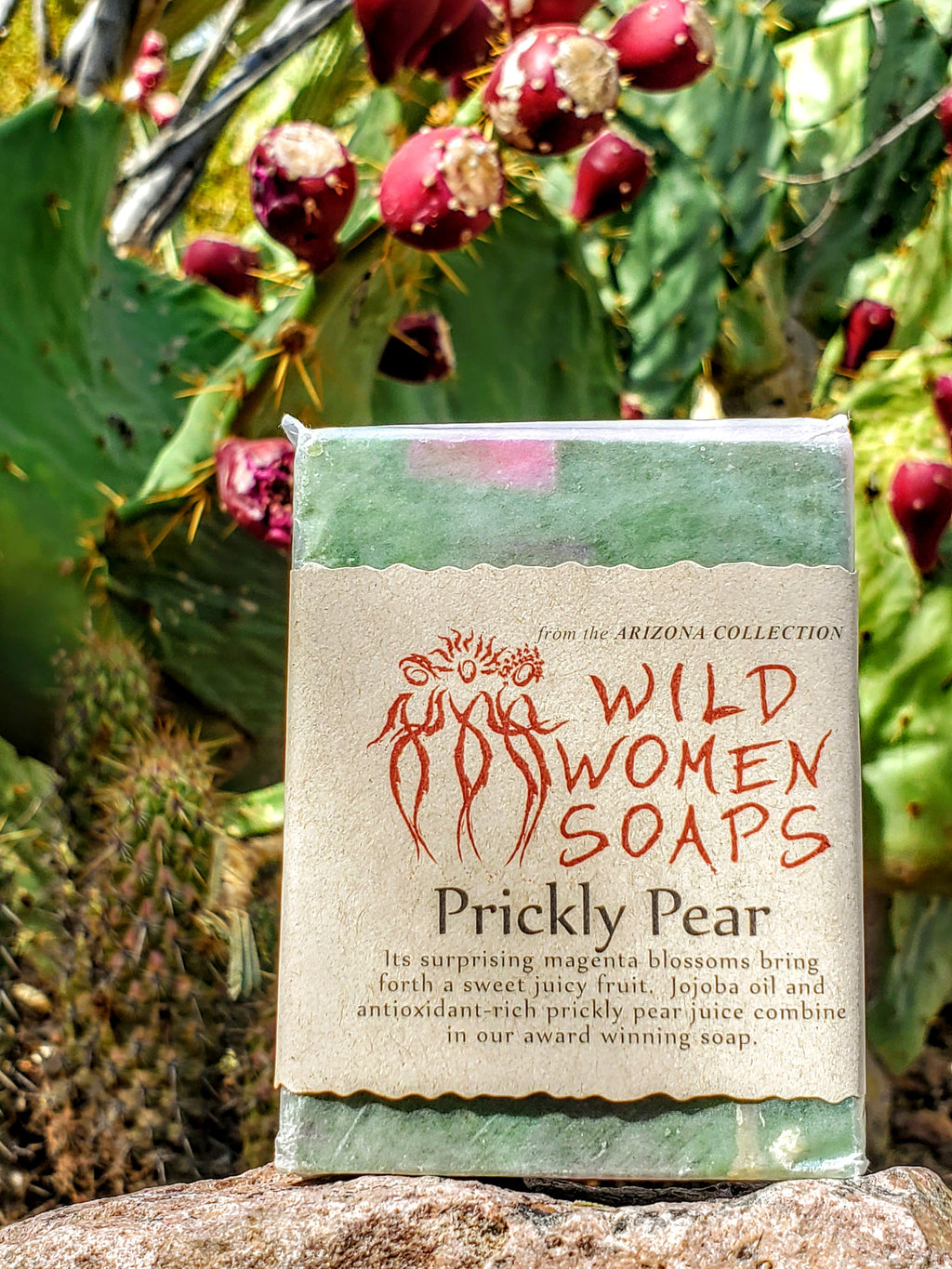 Wild Women's Prickly Pear Soap