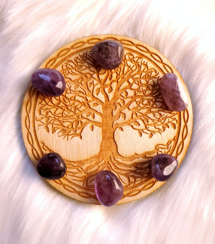 Tree of Life Crystal Grid - 4""