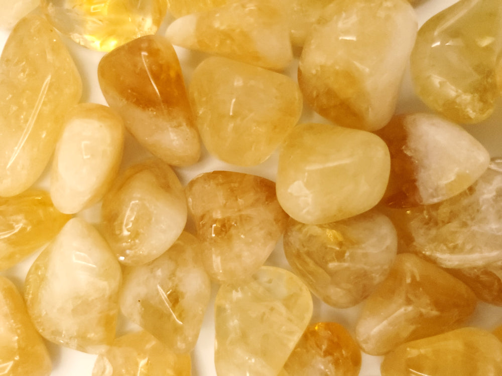 Tumbled Citrine | 5 Crystals