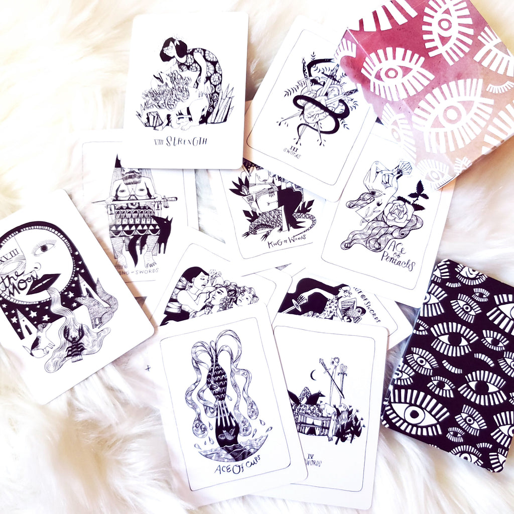 Many Queens Tarot Deck Feminism