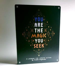 You Are The Magic You Seek Guided Journal | Positive Affirmations