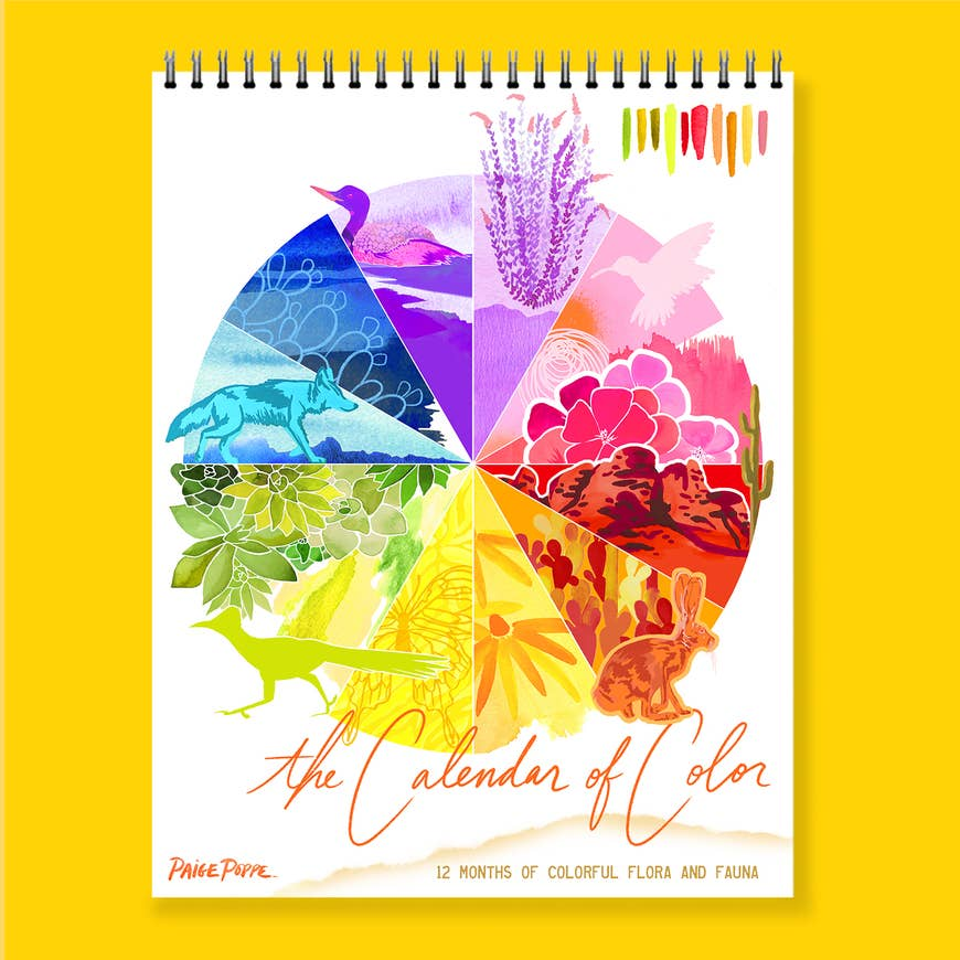 2020 Sonoran Desert Calendar | Watercolor