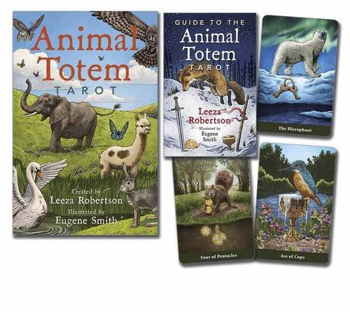 Animal familiar totem tarot card deck